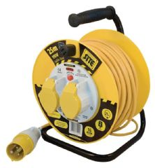 MASTERPLUG LVCT2516/2  Cable Reel 110V 25M 2X16A
